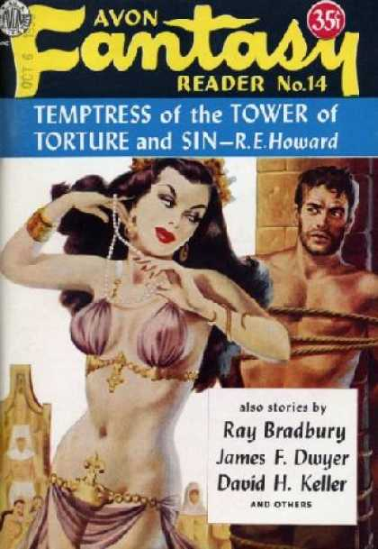 Digests - Temptress of the Tower of Torture and Sin - R.E. Howard
