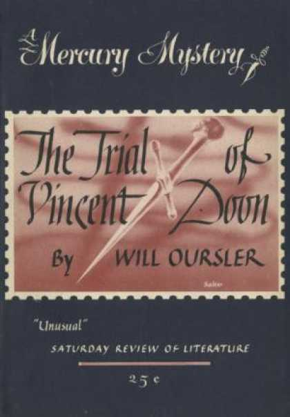 Digests - The Trial of Vincent Doon - Will Oursler