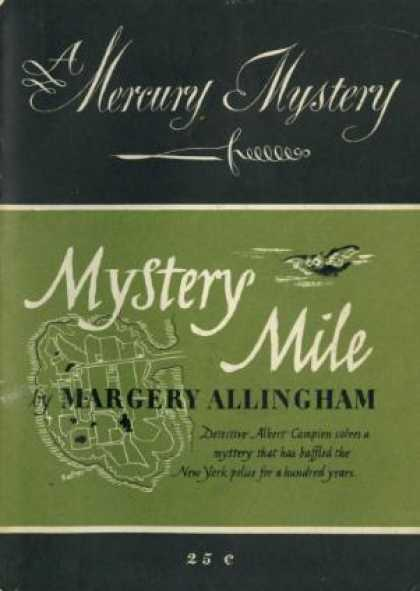 Digests - Mystery Mile - Margery Allingham