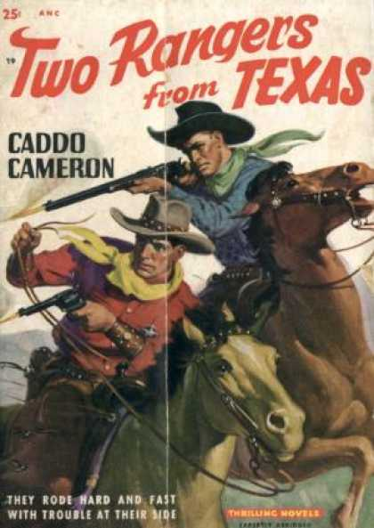 Digests - Two Rangers From Texas - Caddo Cameron