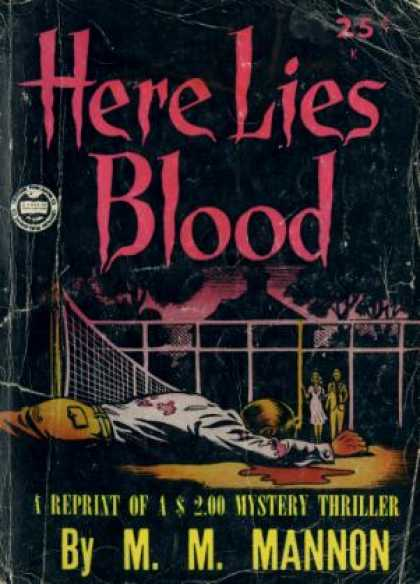 Digests - Here Lies Blood - M. M. Mannon