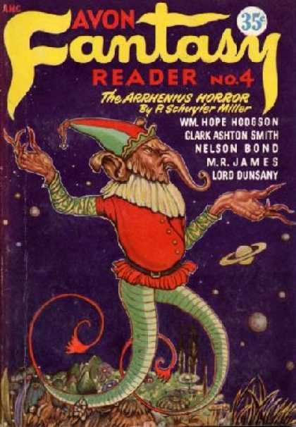 Digests - Avon Fantasy Reader No. 4