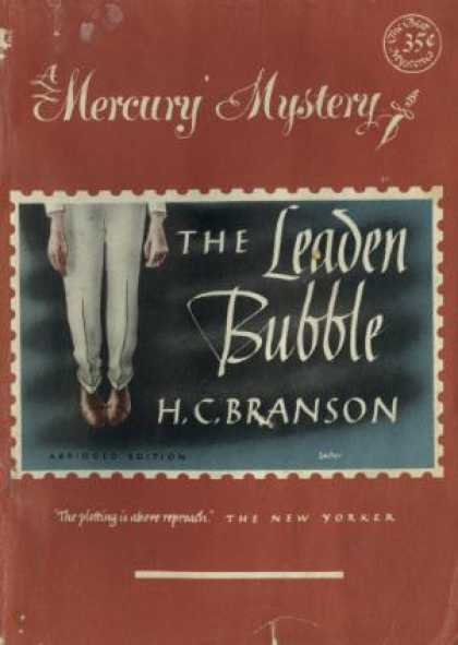 Digests - The Leaden Bubble (mercury Mystery, 153)
