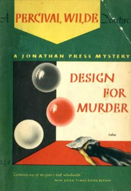Digests - Design for Murder - Percival Wilde