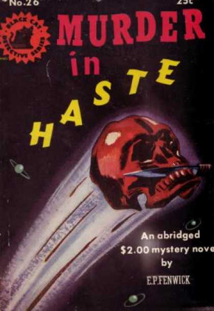 Digests - Murder in Haste - E. P. Fenwick