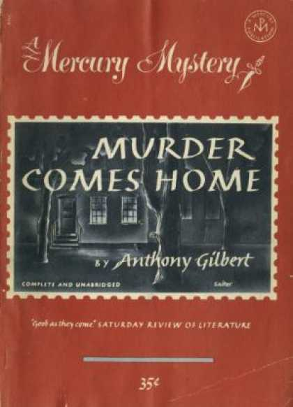 Digests - Murder Comes Home - Anthony Gilbert