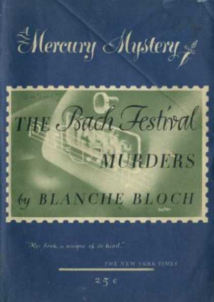 Digests - The Bach Festival Murders - Blanche Blooch