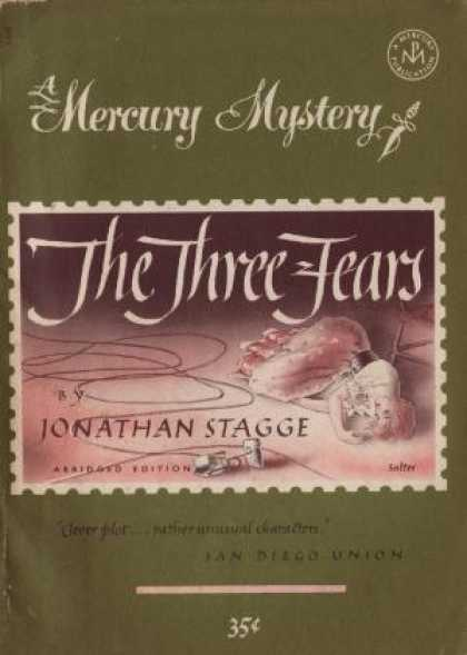 Digests - The Three Fears (mercury Mystery, 169) - Jonathan Stagge