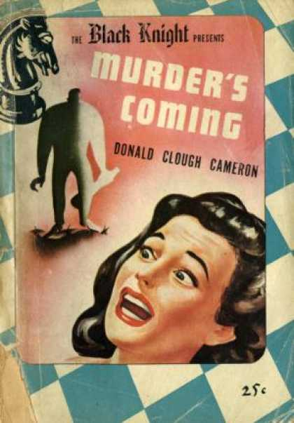 Digests - Murder's Coming - Donald Clough Cameron