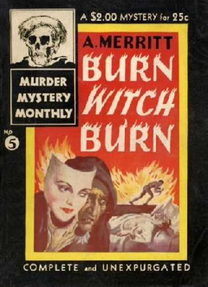 Digests - Burn Witch Burn - Abraham Merritt