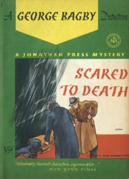 Digests - Scared To Death: A Jonathan Press Mystery #67