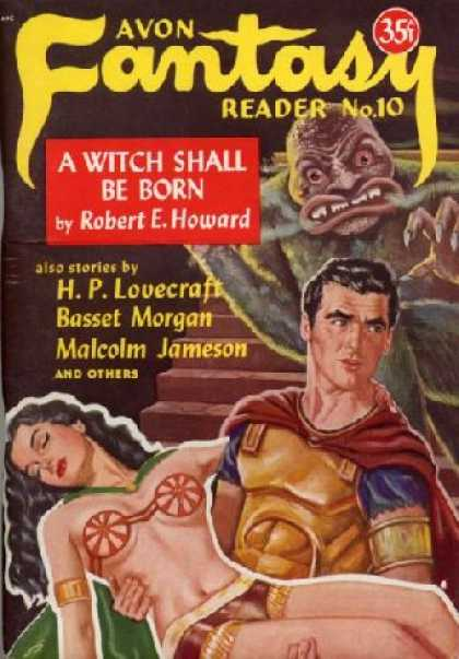 Digests - Avon Fantasy Reader No. 10 - Donald A., Editor; Howard, Robert E.; Lovecraft, H.