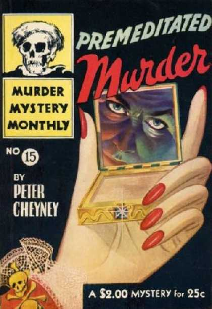 Digests - Premeditated Murder - Peter Cheyney
