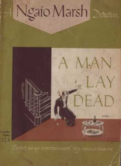 Digests - A Man Lay Dead - Ngaio Marsh