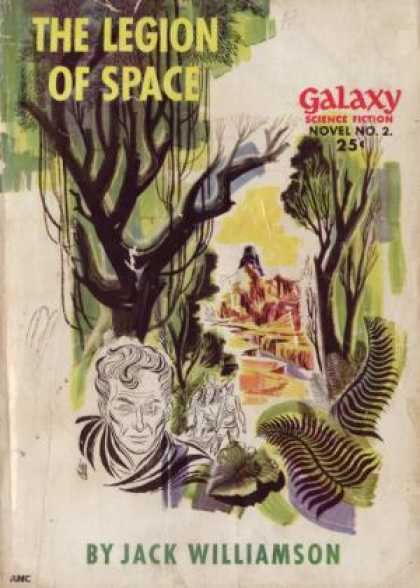Digests - The Legion of Space - Galaxy Science Fiction Novel #2 - Jack Williamson