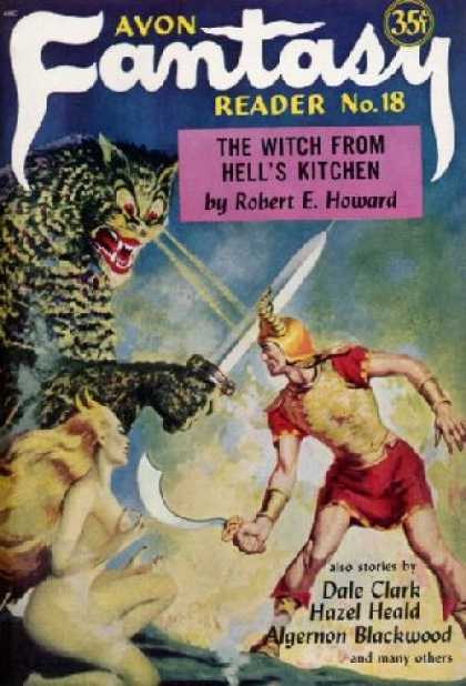 Digests - Avon Fantasy Reader Eightteen - 1952: The Witch From Hell's Kitchen; the Devil I