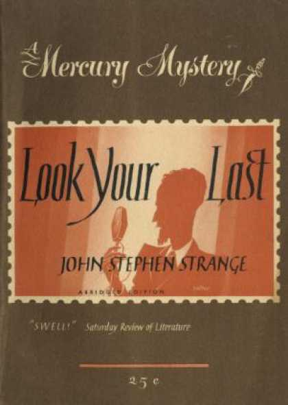 Digests - Look Your Last - John Stephen Strange