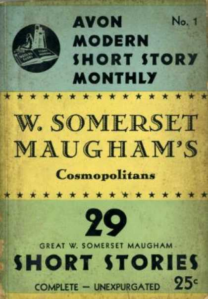 Digests - Cosmopolitans 29 Short Stories - W. Somerset Maugham