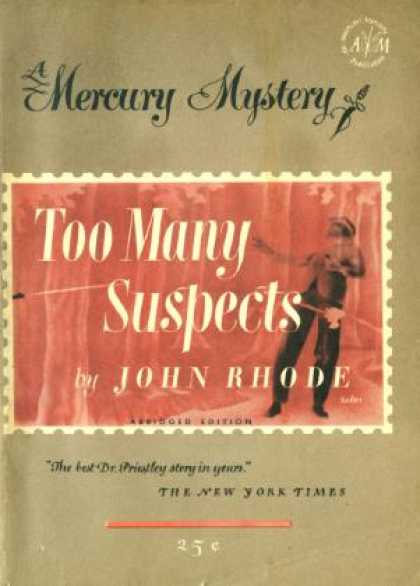 Digests - Too Many Suspects - John Rode