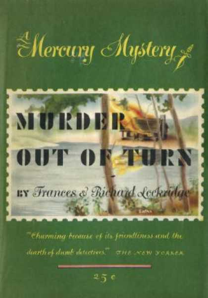 Digests - Murder Out of Turn - Frances & Richard Lockridge