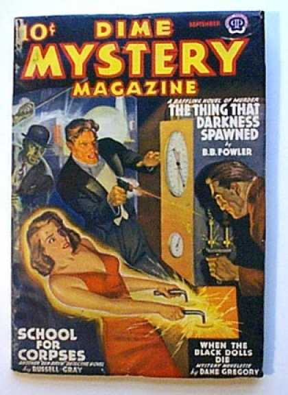 Dime Mystery 27