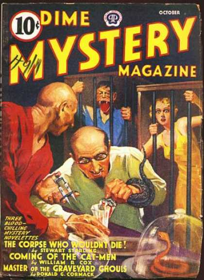 Dime Mystery 34