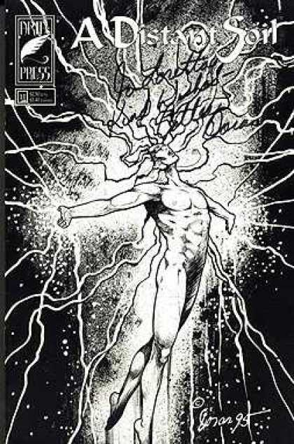 Distant Soil 11 - Writing - Black And White - Lightening - Dusty - Spirie