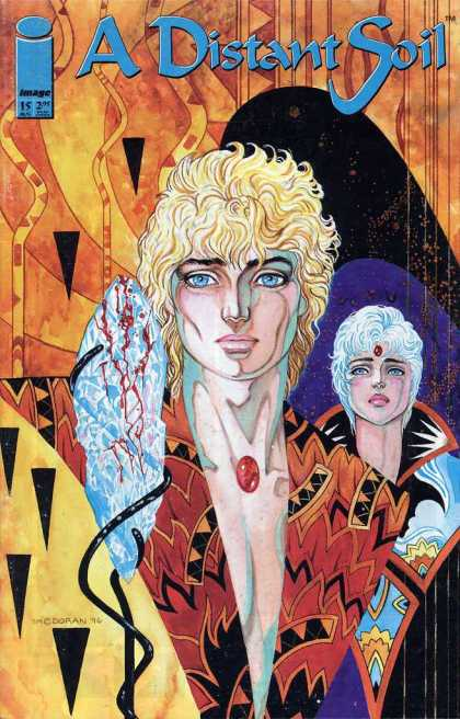 Distant Soil 15 - Blood - One Woman - Looking For Some One - Beautiful Eyes - Nice Hair Style