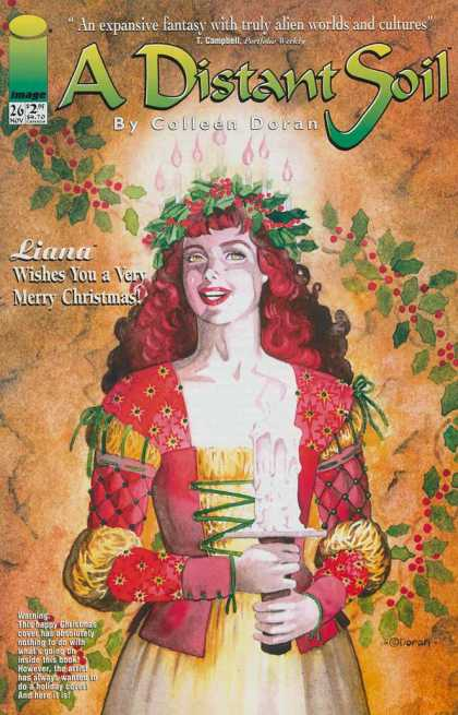 Distant Soil 26 - Colleen Doran - Liana - T Campbell - Christmas - Image
