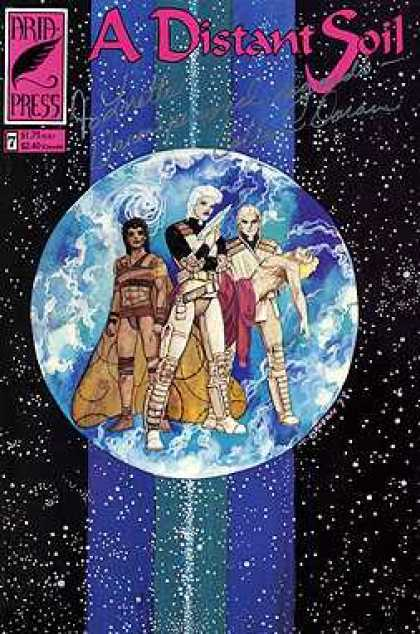Distant Soil 7 - Arid Press - Earth - Planet - Stars - Gun
