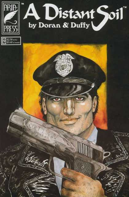 Distant Soil 9 - Big Gun - Indy - Cop - Colleen Doran - Beefcake