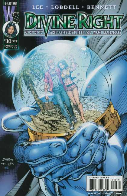 Divine Right 10 - Adventures Of Max - Divine Right Ft Max Faraday - Holiday Globe - Our Creature - The Divine Globe Of Max Faraday - Jim Lee, Scott Williams