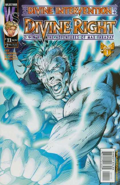 Divine Right 11 - Divine Intervention - Max Faraday - Wildstorm - Muscles - Blade - Jim Lee, Scott Williams