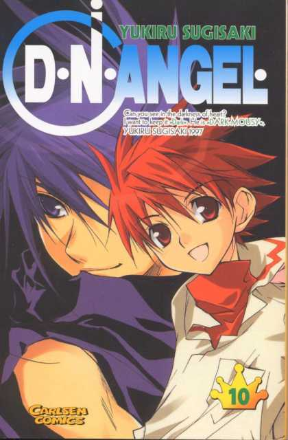 D.N. Angel 10 - Dark Heart - Love Is In The Air - Yukiru Sugisaki - The Red Head - Dark Love