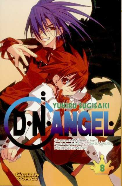 D.N. Angel 8 - Yukiru Sugisaki - Carlsen Comics - Boy - Girl - Crown