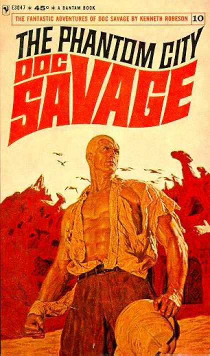 Doc Savage Books - The Phantom City: Doc Savage #10 - Kenneth Robeson