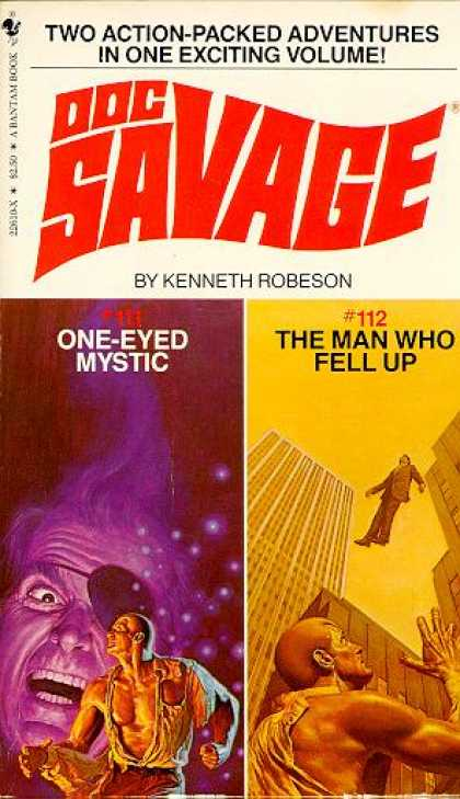 Doc Savage Books - The Whisker of Hercules; the Man Who Was Scared - Kenneth Robeson