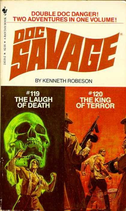Doc Savage Books - Doc Savage: The Laugh of Death and the King of Terror - Kenneth Robeson