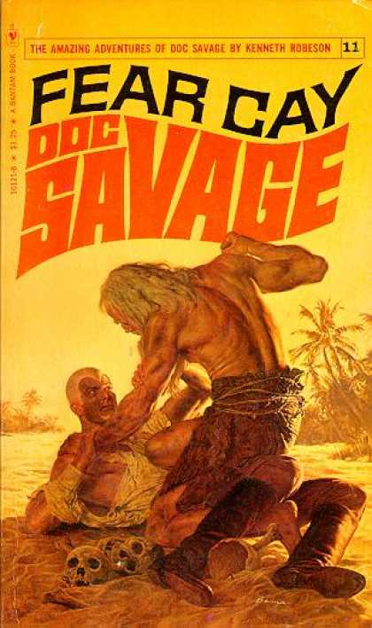 Doc Savage Books - Fear Cay a Doc Savage Adventure