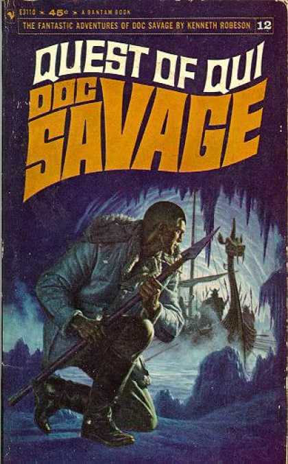 Doc Savage Books - Quest of Qui