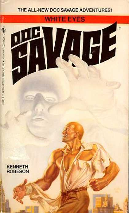 Doc Savage Books - White Eyes - Kenneth Robeson