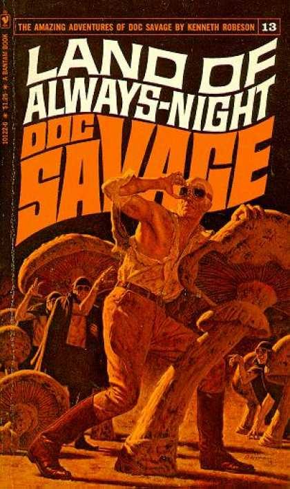 Doc Savage Books - Land of Always-night - Kenneth Robeson