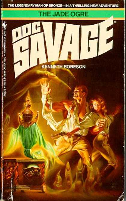 Doc Savage Books - The Jade Ogre - Kenneth Robeson