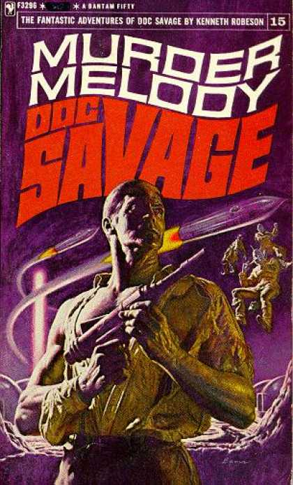 Doc Savage Books - Murder Melody: Doc Savage 15 - Kenneth Robeson
