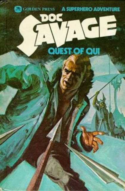 Doc Savage Books - Doc Savage, Volume 4: Quest of Qui - Kenneth Robeson
