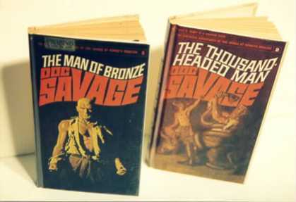 Doc Savage Books 155