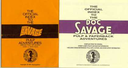 Doc Savage Books 157