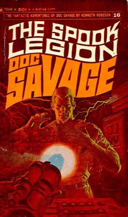 Doc Savage Books - Doc Savage: the Spook Legion - Kenneth Robeson