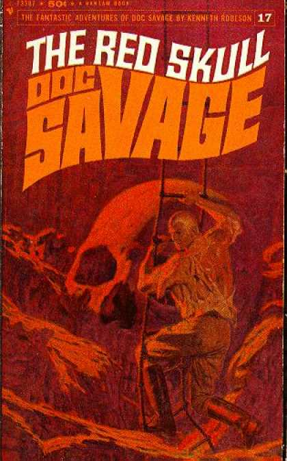 Doc Savage Books - Red Skull