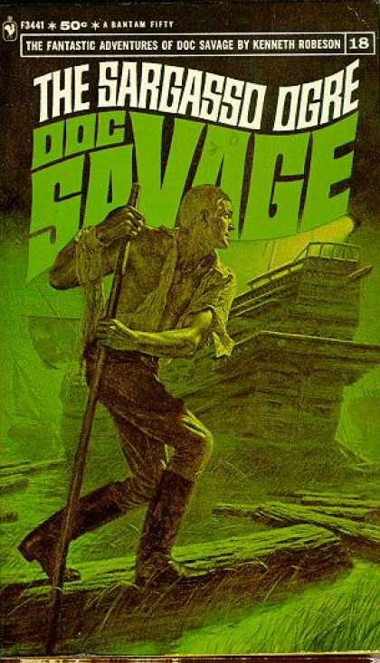 Doc Savage Books - The Sargasso Ogre - Kenneth Robeson